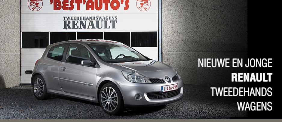 Renault tweedehandswagens